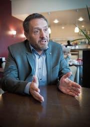 Daniel Lehmann sagt, die Stadt Gossau habe ein riesiges Potenzial. (Bild: Ralph Ribi)