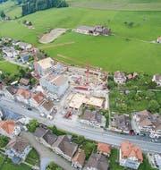 Das Bauvorhaben bringt der Gemeinde Waldstatt neue Steuerzahler. (Bild: pd)