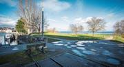 Die Bunkerwiese soll auch künftig Teil des Zonenplans von Romanshorn sein. (Bild: Reto Martin)