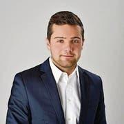 Zünglein an der Waage: FDP-Parteipräsident Andrin Fröhlich. (Bild: PD)