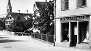 Noch früher: Das Kaufhaus Schmid-Fischer. (Bild: pd)