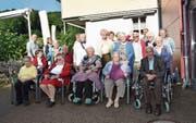 Eine grössere Gruppe genoss unter der Leitung von Dieter Geuter die Fahrt ins Blaue. (Bild: PD)