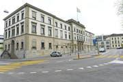 Das Regierungsgebäude in Frauenfeld. (Bild: Donato Caspari)