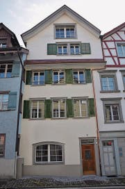 Die Liegenschaft an der Tonhallestrasse 3 in Wil umfasst Konstruktionsteile aus dem 17. Jahrhundert. (Bild: Philipp Haag)