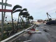 Irma fegte mit über 200 km/h durch die Karibik, wie hier auf der Insel St.Martin. (Bild: Keystone)