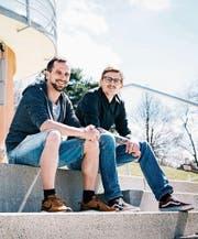 Die beiden Heidler Christian Böni und Fabian Devos übernehmen mit dem Schwimmbadrestaurant bereits ihren dritten Betrieb. (Bild: PD)