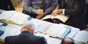 Die Kantonsräte beschäftigten sich gestern im Rathaus Weinfelden mit einer Menge Zahlen: Traktandiert war das Budget 2018. (Bild: Andrea Stalder)