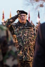 Philippe Rebord, seit Januar 2017 Chef der Schweizer Armee. (Bild: Anthony Anex/KEY (Bern, 8. Dezember 2016))