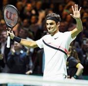 «Ich werde diese Woche nie mehr vergessen», sagt Roger Federer. (Bild: Koen Suyk/EPA)