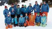 Die Kategoriensieger des Clubrennens vom SC Grabserberg. (Bilder: PD)