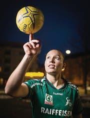 Die 19jährige Brühler Nationalspielerin Zerin Özcelik. (Bild: Benjamin Manser)