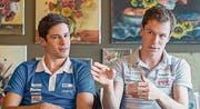 Ambitionierte Brüder: Martin (links) und Daniel Hubmann. (Bild: Michel Canonica)