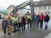 Baubeginn für ein neues «Schäfli» in Waldstatt (Bild: Karin Erni)
