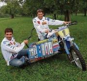 Wollen die Saison krönen: Marius Strauss (l.) und Martin Krieg. (Bild: es)