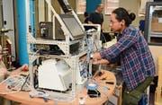 Teil des Gerätes der kanadischen Firma XOR Labs ist das bellavista-Beatmungsgerät der Buchser Firma imtmedical, das Spenderlungen während der Wiederherstellung mit Sauerstoff versorgt. (Bild: PD)