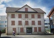 Wo heute der «Freihof» steht, soll das Neubauprojekt Moerswil nach Plänen des St. Galler Architekten Beat Consoni verwirklicht werden. (Bild: Ralph Ribi)