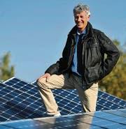 Thomas Böhni: Er plante die Solarstromanlage auf der Gewerblichen Berufsschule Frauenfeld. (Bild: Reto Martin)