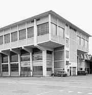 Fertigungshalle Werk Zwei (1961). (Bild: Kantonale Denkmalpflege)