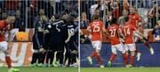 Real oder Bayern? Am Dienstagabend entscheidet sich, wer in den Halbfinal der Champions League einzieht. (Bild: Keystone)