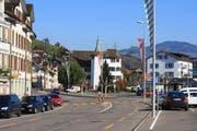 Die Hauptstrasse durch Schmerikon. (Bild: Roland Zh)
