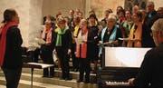 Jeannine Frommenwiler und Martin Duijts führten den neu zusammengesetzten Chor. (Bild: Markus Bösch)