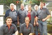 Das OK-Team kümmert sich um einen reibungslosen Ablauf der 30. kantonalen Kleintierausstellung. (Bild: Benjamin Schmid)