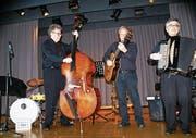 Das Georg-Kegel-Trio begeisterte, und die Darbietungen fanden Anklang. (Bild: GR)