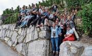 Die Reise ins Wallis wird den Turnerinnen in guter Erinnerung bleiben. (Bild: PD)
