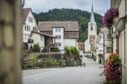 Die Gemeinde Schwellbrunn muss dem intakten Dorfkern auf der Krete weiter Sorge tragen. (Bild: Jil Lohse)