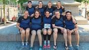 Ein laufstarkes Turnerinnenteam aus Gais. (Bild: PD)