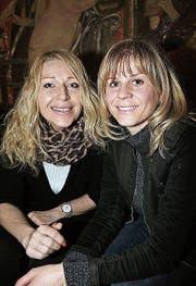 Andrea Bucher (46) und Ramona Laubacher (42), beide aus Uttwil.