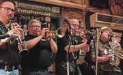 Gastgeber: Die River House Jazzband spielt im «Mariaberg». (Bilder: PD)