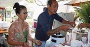 Thai Food kann auch als Fingerfood probiert werden.
