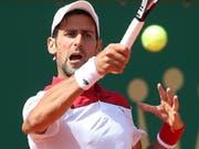 Für Novak Djokovic bleibt die Rückkehr auf die Tour ein harter Kampf. (Bild: KEYSTONE/EPA/SEBASTIEN NOGIER)