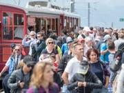War 2017 bei den Touristen beliebt: Die Rigi. (Bild: KEYSTONE/URS FLUEELER)