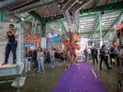 Inspiration ist das Schwerpunktthema der am Freitag in Basel eröffneten Frühjahresmesse muba 2018. (Bild: KEYSTONE/PATRICK STRAUB)