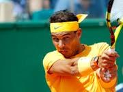 Spielt am Sonntag um seinen elften Titel in Monte Carlo: Rafael Nadal (Bild: KEYSTONE/AP/CHRISTOPHE ENA)
