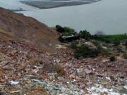 In Peru haben sich erneut zahlreiche schwere Busunfälle mit vielen Toten ereignet. (Archivbild von Unfall im Februar 2018) (Bild: KEYSTONE/EPA Andina/ANDINA / HANDOUT)