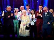92 Jahre jung: Queen Elizabeth II feiert ihren Geburtstag bei einem Konzert in London. (Bild: KEYSTONE/AP Pool The Times/ANDREW PARSONS)