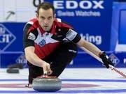 Sven Michel im Mixed-Doppel vor neuer Herausforderung (Bild: KEYSTONE/GEORGIOS KEFALAS)