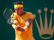 Rafael Nadal unterstreicht in Monte Carlo seine Dominanz auf Sand (Bild: KEYSTONE/AP/CHRISTOPHE ENA)