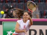 Patty Schnyder soll die Schweizerinnen vor dem Abstieg retten (Bild: KEYSTONE/GEORGIOS KEFALAS)