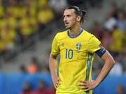 Beendete nach der EM 2016 seine Karriere in der schwedischen Nationalmannschaft: Zlatan Ibrahimovic (Bild: KEYSTONE/EPA/PETER POWELL)