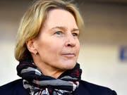 Martina Voss-Tecklenburg hat mit den Schweizerinnen schon viel erreicht (Bild: KEYSTONE/WALTER BIERI)