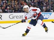Alexander Owetschkin will mit Washington die Pittsburgh Penguins stoppen (Bild: KEYSTONE/FR52593 AP/JAY LAPRETE)