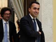 Luigi Di Maio, Chef der Fünf-Sterne-Bewegung, will mit den Sozialdemokraten über eine mögliche Regierungskoalition sprechen. (Bild: KEYSTONE/EPA ANSA/ETTORE FERRARI)