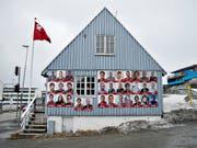 Grönland hat gewählt und dabei die bisherige Regierung im Amt bestätigt. (Bild: KEYSTONE/AP Ritzau Scanpix/CHRISTIAN KLINDT SOELBECK)