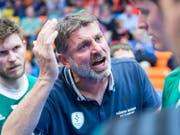 Der Thuner Trainer Martin Rubin fand die richtigen Worte (Bild: KEYSTONE/NICK SOLAND)