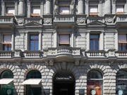 Die Credit Suisse ist gut ins neue Jahr gestartet: Hauptsitz der Bank in Zürich. (Bild: KEYSTONE/GAETAN BALLY)