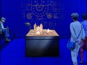So soll der Ausstellungsraum für den St. Galler Klosterplan aussehen. Ab Frühling 2019 können Besucherinnen und Besucher des Stiftsbezirks erstmals das Original des berühmten Plans aus dem 9. Jahrhundert bestaunen. (Bild: Stiftsbibliothek St. Gallen)